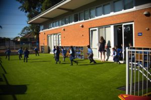 Refurbished Spaces for students to play